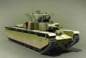 модель танка Т-35