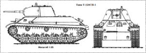 танк Т-126СП-1