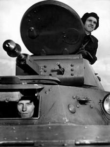 экипаж танка Т-40