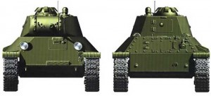 т-50 виды спереди и сзади
