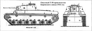 танк Т-50 Кировский заввод