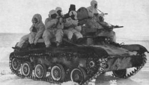 танковый десант на Т-40
