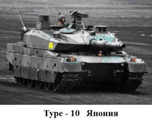 танк Тип-10 Япония