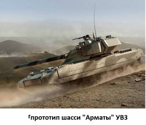танк Армата УВЗ