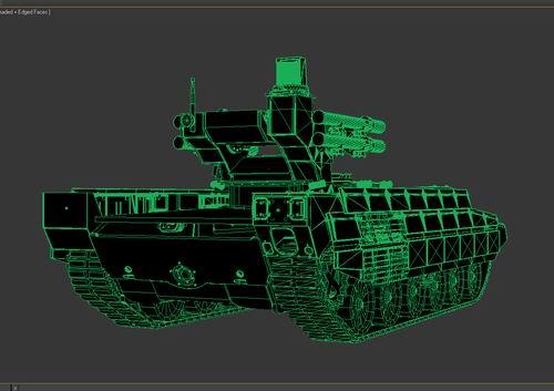 3Д модель терминатора