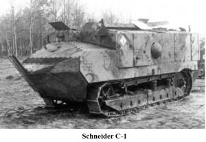 Танк Шнайдера 1916 год
