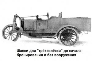 шасси для трёхколёски
