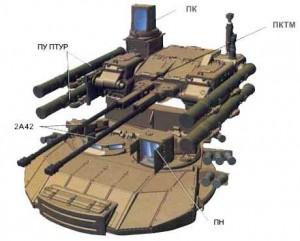 боевой модуль БМПТ