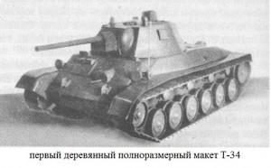 Т-34. Макет
