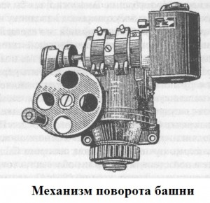 Механизм поворота башни