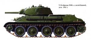Т-34-76 с литой башней