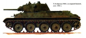 Т-34-76/40 с пушкой Л-11