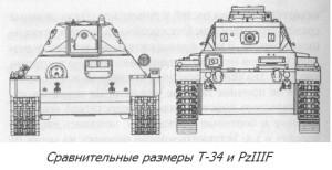 Т-34-76 и Т-III F