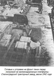 СТЗ. Отгрузка танков на фронт.