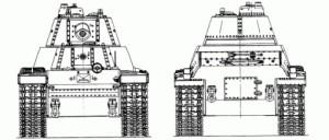 Т-100 проекции