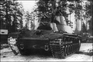 Т-100 на Карельском перешейке. Февраль 1940