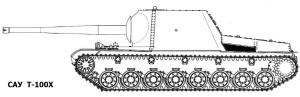 САУ Т-100Х