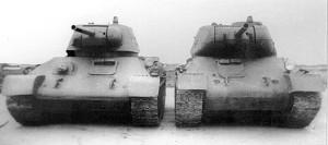 Т-34 и Т-43