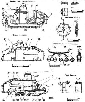 Чертежи танк М