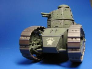 Модель танка М