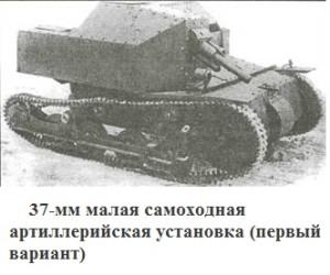 СУ с 37 мм пушкой