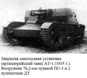 первый экземпляр САУ АТ-1