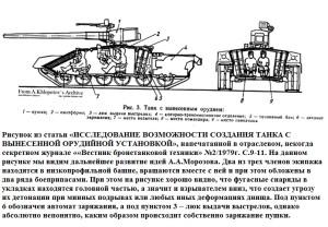 Танк Т-74 вариант