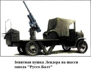 Самоходная зенитная пушка Лендера