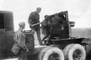 СУ-1-12 на позиции