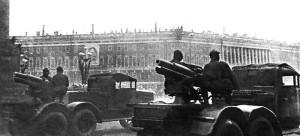 СУ-12 на параде