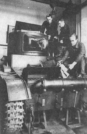 Производство танка БТ-7А