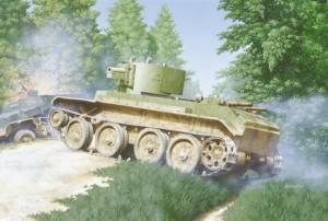 БТ-7А в бою