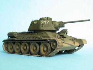 модель - копия танка Т-34-76
