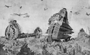 танк глазами века 19