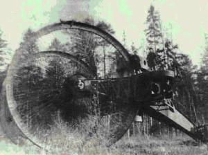 Фото с испытаний танка лебеденко