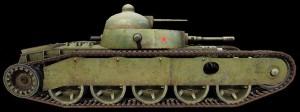 Модель танка Гротте