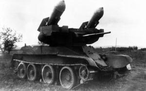 РБТ-5 на испытаниях