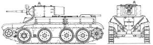БТ-5ИС 1938 года