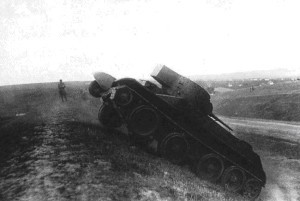 БТ-5ИС на испытаниях 1938 года