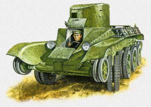 БТ-2ИС 1935