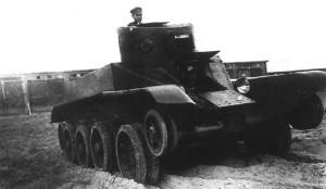 БТ-ИС испытания 1935