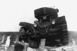 БТ-5ИС на испытаниях
