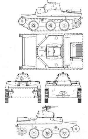 схема Т-43-2