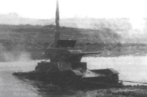 Т-26 ПХ 14 на испытаниях