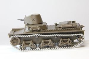 Модель-копия танка Молотова