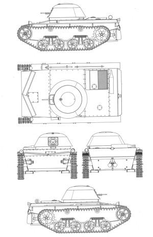 проекции Т-37Б