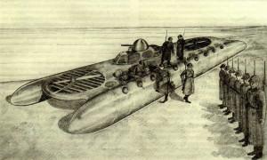 БМП Левкова на воздушной подушке