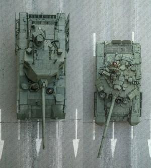 Т-14 и Т-90