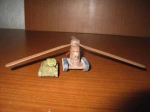 модель танка Камова