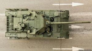 Т-14 вид сверху